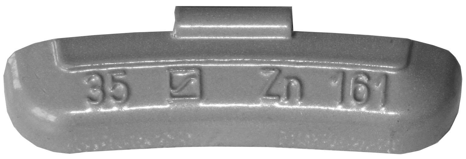 Zink 50 x Auswuchtgewichte 40g für Stahl-Felgen ZN