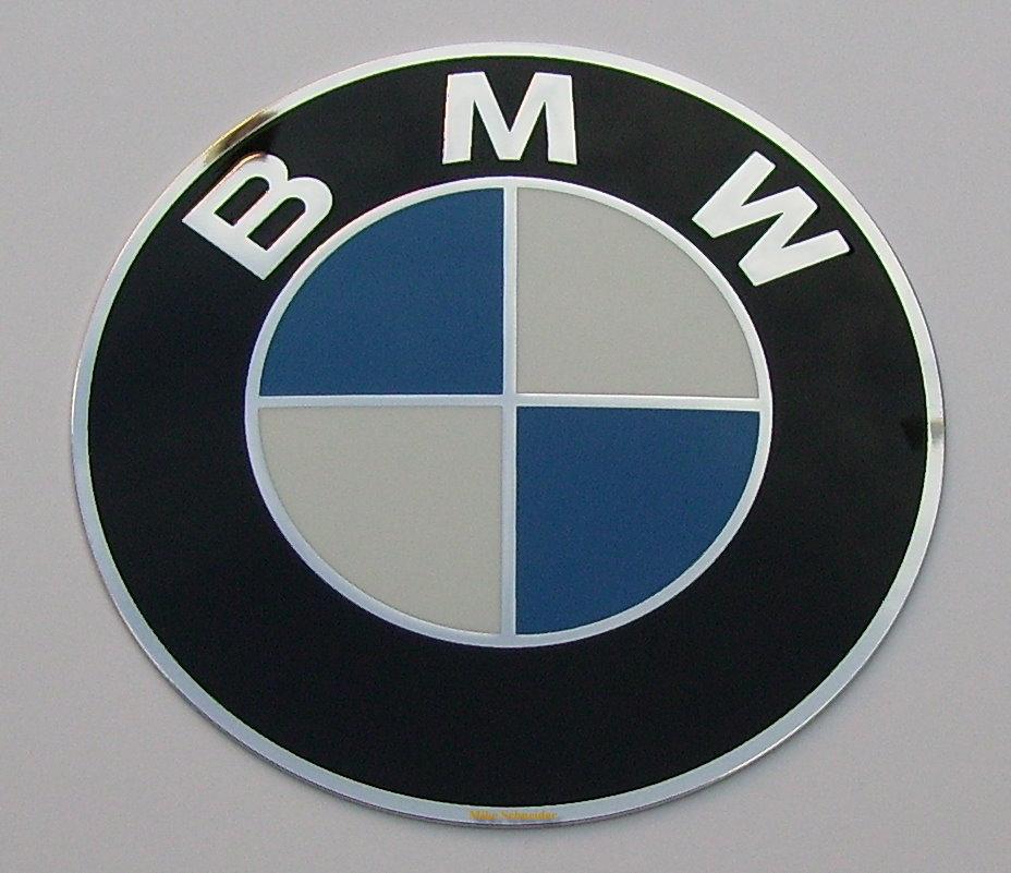 plakette bmw motorrad 60 mm emblem schriftzug 1 x logo. Black Bedroom Furniture Sets. Home Design Ideas